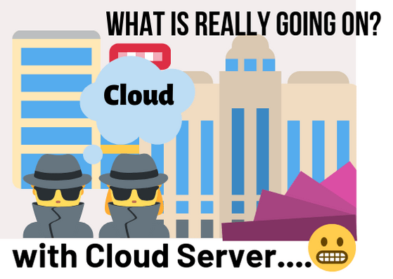 Whats really Going on cloud server