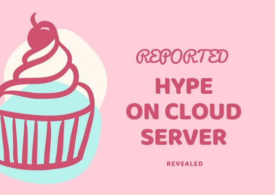 reported hype on Cloud Server Revealed