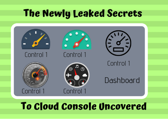 The Newly Leaked Secrets to cloud console