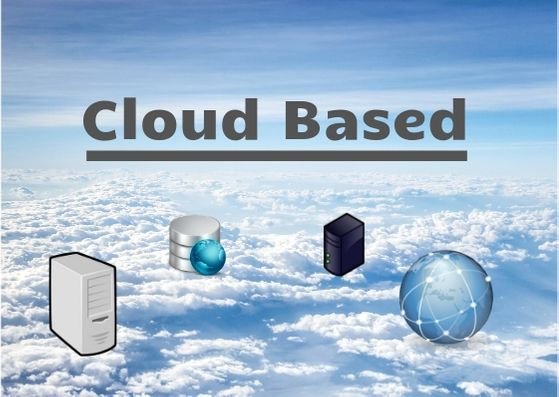 usign cloud based