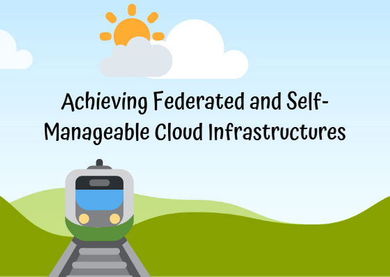 Achieving Federated and Self-Manageable Cloud Infrastructures