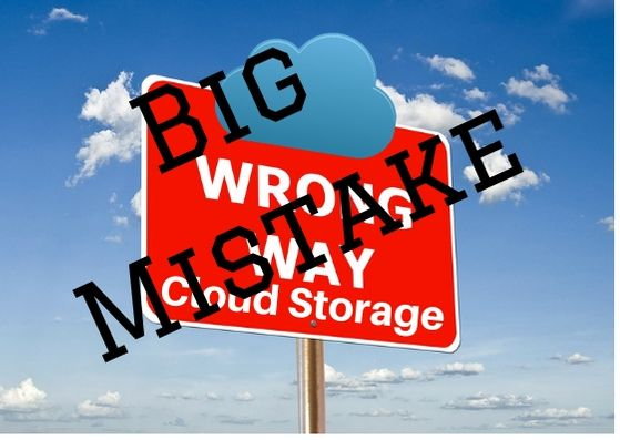 Big Mistake Cloud Storage - Why Everybody Is Completely Mistaken About Cloud Storage
