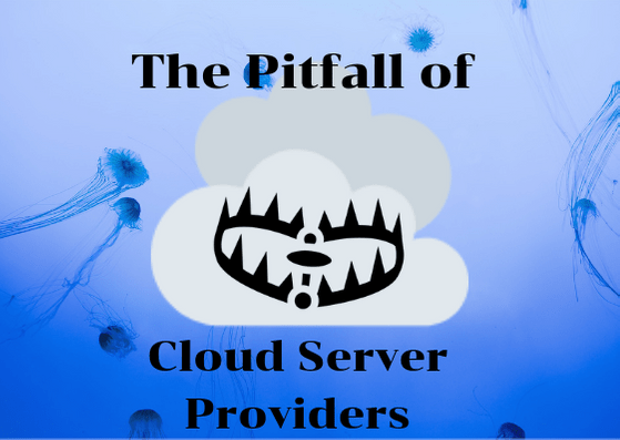The Pitfall of Cloud Server Provider